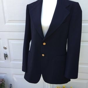 Yves St. Laurent Vintage Blazer (Navy)